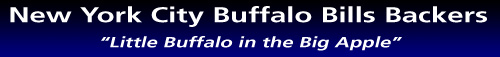 New York City Buffalo Bills Backers